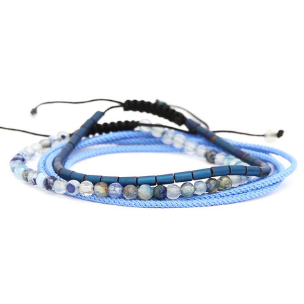 Για το χέρι, Aegean Blue Set of Bracelets