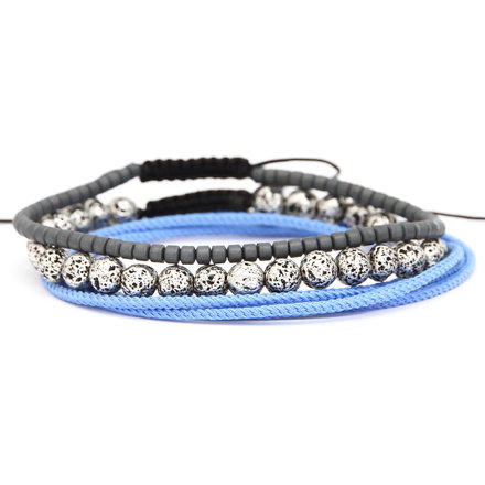 Για το χέρι, Blue Lava Set of Bracelets