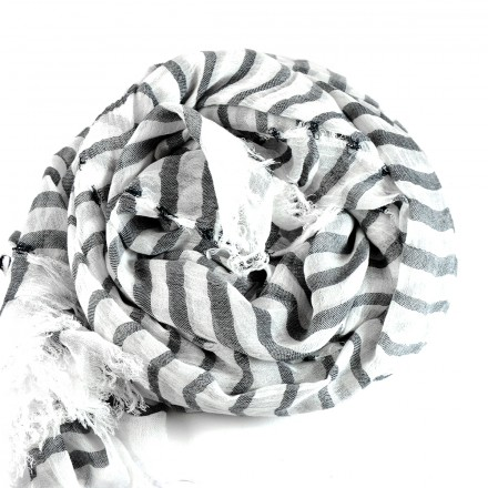 Αξεσουάρ, Scarf Black-White