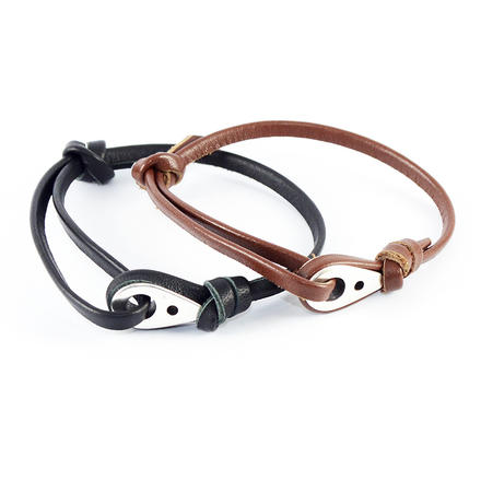 Για το χέρι, Navy Bracelet Leather