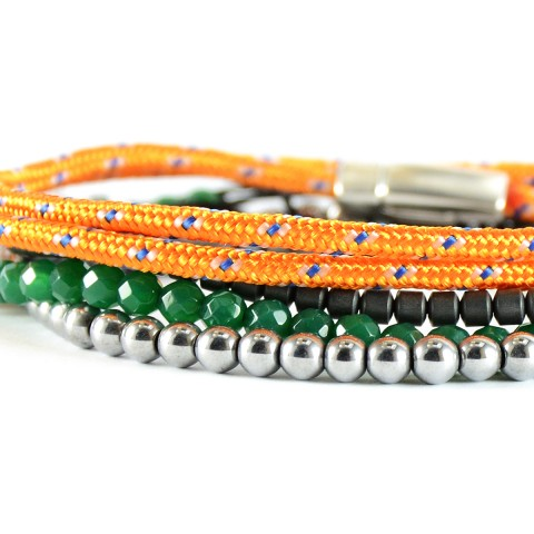 Για το χέρι, Orange Set of Bracelets